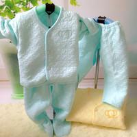 Newborn underwear piece set newborn clothes autumn and winter underwear newborn 100% cotton spring and autumn underwear 9001