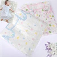 Cotton baby 100% 6 gauze sleeping bag baby summer sleeping bag air conditioning sleeping bag lengthen child anti tipi 5711