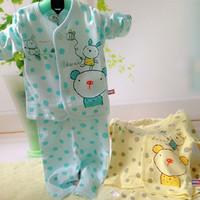 Newborn baby underwear set underwear set rabbit balloon single breasted 2131