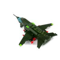 Bomber model Enlighten 0497 building blocks 3D DIY assembling educational toys Children birthday gift Free Shipping