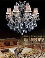 Free Shipping Wholesale Modern Art Maria Theresa Crystal Chandeliers Decorative Lamp / Light / Lighting (Model:CC-N130-8)