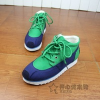 2013 shoes lacing elevator single shoes sport shoes high-top shoes canvas shoes female shoes female sport shoes