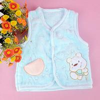 On sale Newborn infant vest male children's clothing vest fleece sweater vest  baby fashion wear 2013