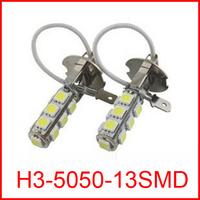 New Wholesale H3 LED Fog Light 13 LED 5050 LED Bulbs For Fog Lights