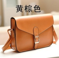 Casual strap decoration one shoulder cross-body women's handbag