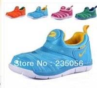 Free shipping Rubber leather sport boys girls children shoes sneakers Eur 25-36 size