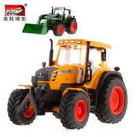 Mz alloy engineering car farmer car excavator mining machine bulldozer car model tractor toy