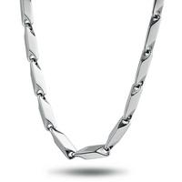 Jpf men fashion steel necklace male accessories heterochrosis