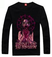 Fashion wear 2013 autumn bring me the horizon heavy metal fashion long-sleeve T-shirt