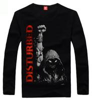Fashion wear 2013 autumn disturbed nu-metal metal fashion long-sleeve T-shirt