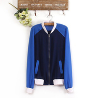 free shipping 2013 active chiffon women ladies clothes women's jacket full sleeve coat autumn L0348