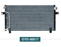 A32 condenser auto condenser aluminum automotive air conditioning radiator
