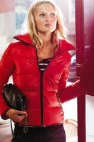 free shipping 2013 fashion women ladis brand high quality cotton-padded coat winter down jacket L0369