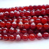 2013 diy accessories Diy beads aa red agate beads 10mm diy beads string