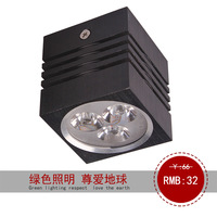 Ultra-thin type led ming mounted downlight wall lights led square downlight led spotlight ceiling light