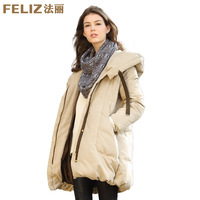 Winter women's 2013 bread loose medium-long down coat plus size thickening tooling down coat