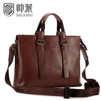 2013 man bag business casual cowhide shoulder bag messenger bag handbag briefcase bag 90