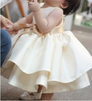 Hot-selling quality child  female child puff skirt   princess flower   skirt wedding   baby girl dresses party dress