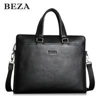 Man bag genuine leather first layer of cowhide business casual handbag laptop bag male shoulder bag briefcase bag