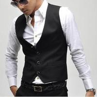 Male vest fashion slim suit blazer vest male vest sleeveless vest male men fashion   slim suit mens dress suits