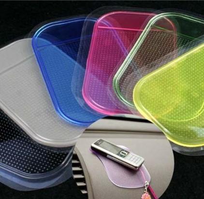 Car slip-resistant pad decoration slip-resistant mobile phone pad auto supplies accessories(China (Mainland))