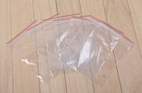 7cm * 10cm *0.08mm PE bayonet valve bag packaging plastic bag accessories bone bag folder chain bag APE-4
