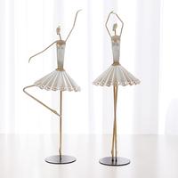 Modern lady home decoration fashion art decoration gift ballet girls a pair