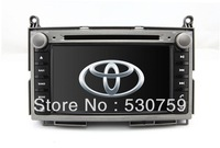 "7"" 2Din InDash Car DVD Player GPS Navigation for Toyota Venza 2008-2012 +TV free Map AUX Audio Video Auto Stereo Bluetooth Radio"