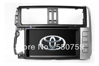 "8"" 2Din InDash Car DVD Player for Toyota Prado 2010-2012 + GPS Navigation CAN Bus SWC TV Map NAVI Bluetooth Radio Stereo Audio"