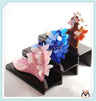 acrylic shoes display&shoes display rack&Special Offered Exquisite Clear Acrylic Shoe Display Stand