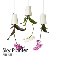 3 pcs/lot Sky Planter Upside-Down Plant Pot  Flower Pot