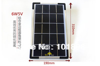 USB Solar Charging pad,6W 5V Solar panel for phone chargers,have Pour Filling Device solar panel