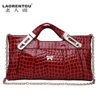 LAORENTOU new 2014 vintage handbag women's day clutch women messenger bag genuine leather bags famous brands totes shoulder bags