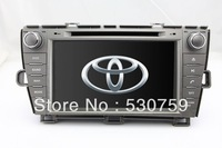 "8"" 2 Din In Dash Car DVD Player GPS Navigation for Toyota Prius Left Driving 2009-2012 + CAN Bus Radio TV AUX Stereo Auto Video"
