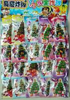 8cm 100Pcs Wholesale Boatswain toy colorful paper christmas tree magic wishing tree  =SDSm1