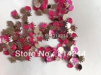 Free shipping(2000pcs/lot) Acrylic crown rhinestone baby shower diamond confetti party favors