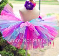 Blue pink Tutu,Pink girls tutu ballet skirt,tutu skirt ,baby tutu , toddler tutu