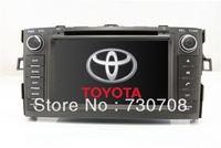 "7"" 2Din InDash Car DVD Player for Toyota Auris Corolla Hatchback + GPS Navigation Radio Bluetooth TV MAP Stereo Auto Audio Video"