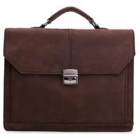 Good quality real leather  vintage briefcase mens bag ,newest fashion business bag,cow leather messenger bag YG111
