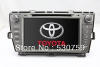 "8"" 2Din In Dash Car DVD Player for Toyota Prius Left Driving 2009-2012 + GPS Navigation Radio Bluetooth TV AUX Stereo Auto Video"