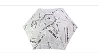 Free shipping,high quality fashion paper print classical sun umbrella,automatically retro water droplet three folder umbrella.