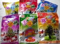 8cm 48 Pcs Wholesale Novelty educational toys paper magic christmas paper tree long  =SDSm2