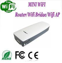 Sinal forte 150 Mbps wi fi Router WiFi ponte WiFi Ap suporte compartilhamento de mídia grátis frete