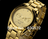 Free shipping (1pcs/lot) New Fashion Luxury High Quality Women or Men Watch with 5 color stock