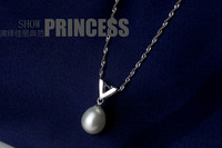 Free Shipping  Promotion Pendents 925 Sterling Silver with Real Pearl Fashion Brand Pendant