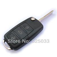 Good Quality Wholesale Flip Folding Key Shell Case Replacement For Volkswagen Beetle Jetta Passat Golf Polo Bora 2002-2010