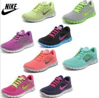 2013 Hot sale Women's free run+3 5.0 running shoes !Cheap sale Womens sports shoes,sneakers for women free shipping
