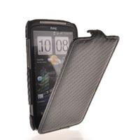 CARBON FIBRE FLIP HARD BACK CASE COVER FOR HTC SENSATION 4G Z710E G14 FREE SHIPPING
