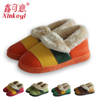 Jacuzzi winter package with platform encoustic thermal cotton-padded lovers slippers winter home wool slippers