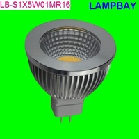 LED COB spotlight MR16 5w 12v high lumens high quality